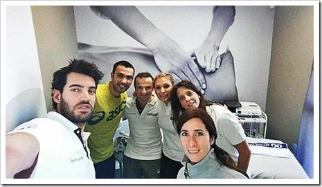 El jugador Pablo Lima se recupera satisfactoriamente de su lesión gracias a la metodología Human Tecar.