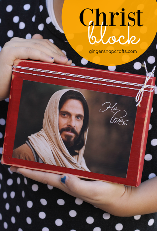 Christ Block tutorial at GingerSnapCrafts.com #Helives #sharegoodness_thumb