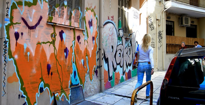 15. Typical street at Thessaloniki