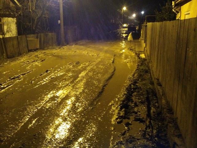 Strada Micșunelelor, cartierul Ițcani, municipiul Suceava