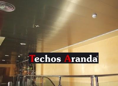 Presupuesto economico techos de aluminio para cocinas Madrid