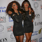 WWW.ENTSIMAGES.COM -     Irene and Elsa of Major The Band   at          London Lifestyle Awards at The Troxy, 490 Commercial Road, London,October 23rd 2013                                             Photo Mobis Photos/OIC 0203 174 1069