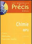 Livre Précis de chimie MPSI - MP - PT PDF