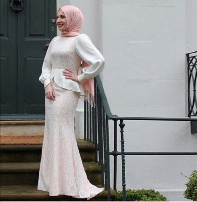 15 Design Gaun Pesta Muslimah
