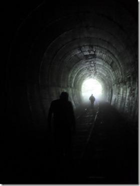 pont sortie du tunnel