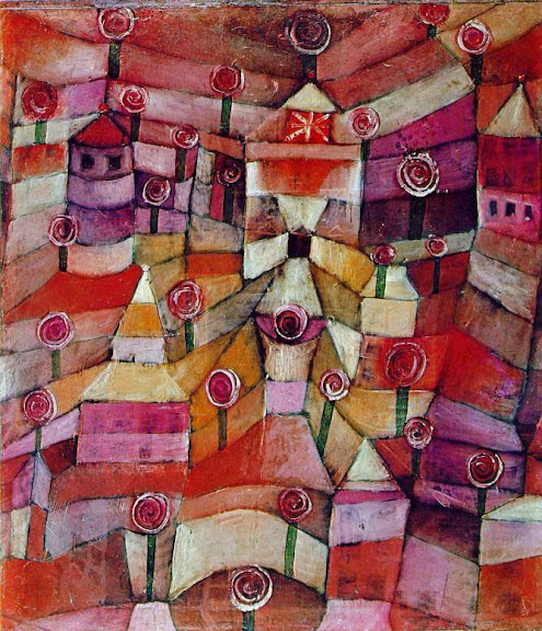 Paul Klee - Rose garden, 1920