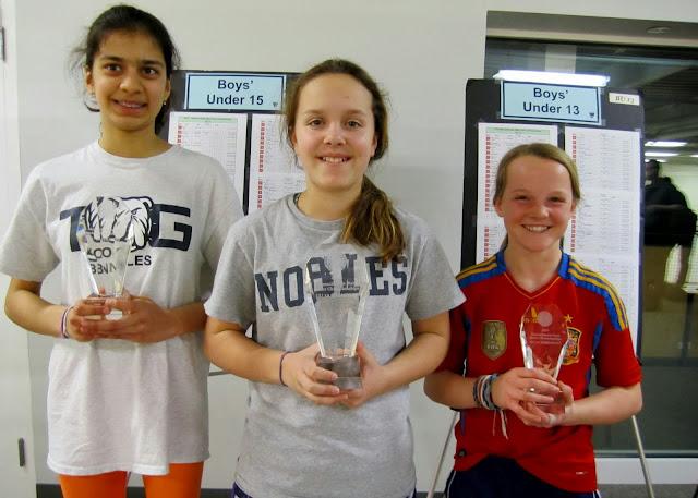 GU 13: Finalist - Baani Sharma (Andover, MA); Champion - Jesse Brownell (Belmont, MA); 3rd Place - Maya Bardorf (Newport, RI)