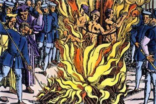 Witches And Sorcerers Burned In 1590 England