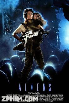 Quái Vật Không Gian 2 - Aliens (1986) Poster