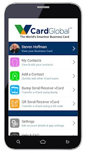 vCard Global Business Card screenshot 0