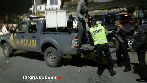 Operasi Serentak Jajaran Kepolisian Wilayah Sukabumi Utara Gelar Razia