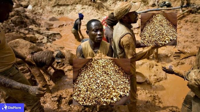 Mlima wa dhahabu uliogunduliwa na wanakijiji DR Congo, asilimia 90 ni dhahabu