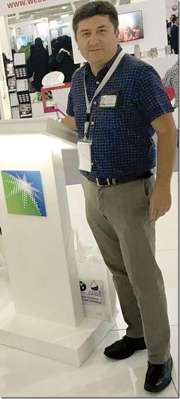 Javier Lagraba, el boliviano geólogo-petrofísico líder en Arabia Saudí