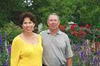 Garden owners Linda Larkin and Ken Owens