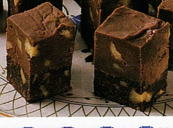 Fudge-topped Brownies