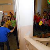 Finský pěvecký sbor na návštěvě ve škole