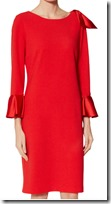 Gina Baccioni Satin Detail Scuba Dress