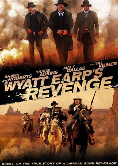 Poster Of Wyatt Earp's Revenge (2012) Full Movie Hindi Dubbed Free Download Watch Online At Alldownloads4u.Com