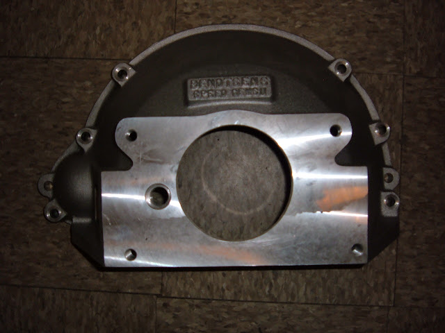 transmission adaptors bell housings 4.3 Chevy Timing Cover new bellhousing 57 66 364 401 425 cast aluminum for 3 4 5 speed gm trans 345 00