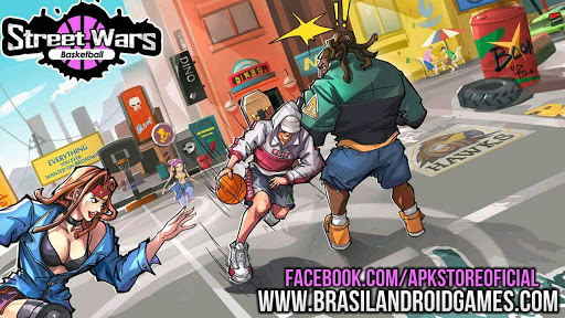 Download Street Wars: Basketball v0.0.96 APK + OBB - Jogos Android