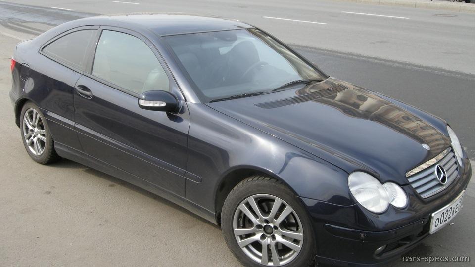 2005 mercedes benz c class hatchback specifications for Mercedes benz hatchback models