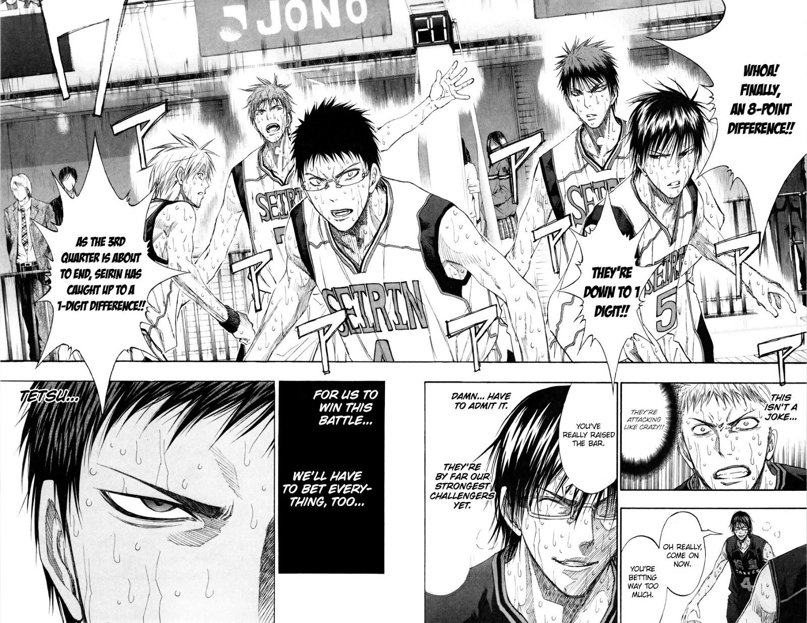 Kuroko no Basket Manga Chapter 129 - Image 17-17