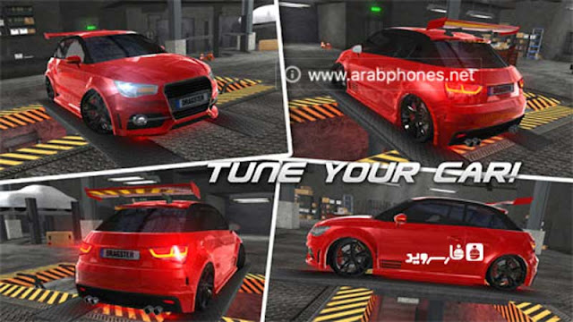 لعبة Drag Racing 3D مهكرة للاندرويد