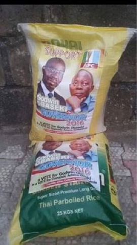 Image result for Oshimhole-Obaseki rice