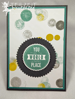 Stampin' Up! - In{k}spire_me #200, Sprüchefeuerwerk, Starburst Saying, DP Mondschein, DSP Moonlight, Sigma