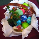 4.23.2011 Święcenie pokarmów w Wielką Sobotę w kościele MOQ, w Norcross. Typowe koszyki wielkanocne - IMG_7851.JPG