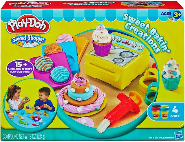 Sản phẩm Bột nặn làm Bánh nướng ngọt ngào Play-Doh A9802 Sweet Bakin' Creations
