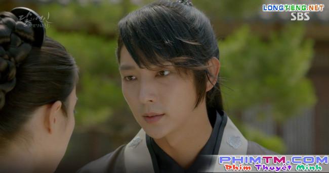 """Moon Lovers: """"Mười"""" Baekhyun chính thức có nụ hôn màn ảnh đầu tiên! - Ảnh 13."""