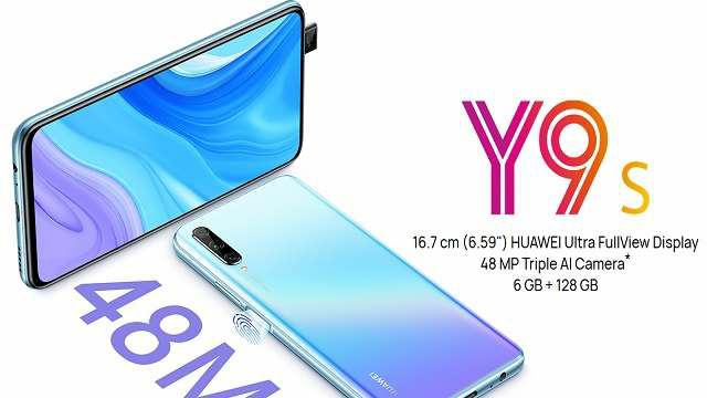 Huawei Y9s was launched in Iraq last year and now this smartphone with triple rear camera setup can be launched in India soon.