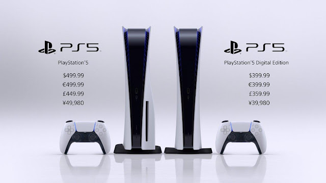 PlayStation 5 official prices