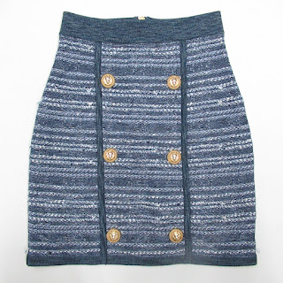 Balmain Paris Knit Skirt