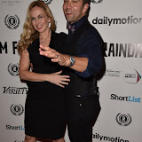 OIC - ENTSIMAGES.COM - Debbie Booth and Stefan Booth  at the  Meet Pursuit Delange Premier at the 23rd Raindance Festival London UK 1st October 2015 Photo Mobis Photos/OIC 0203 174 1069