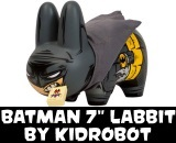 "DC Comics x Kidrobot Batman 7"" Labbit Vinyl FIgure"