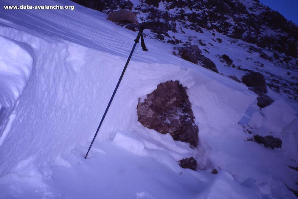 Avalanche Mont Thabor, secteur Petit Argentier, Traversée du Jeu - Photo 1