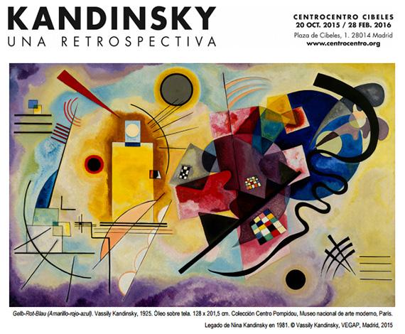 'Kandinsky. Una retrospectiva' en CentroCentro Cibeles