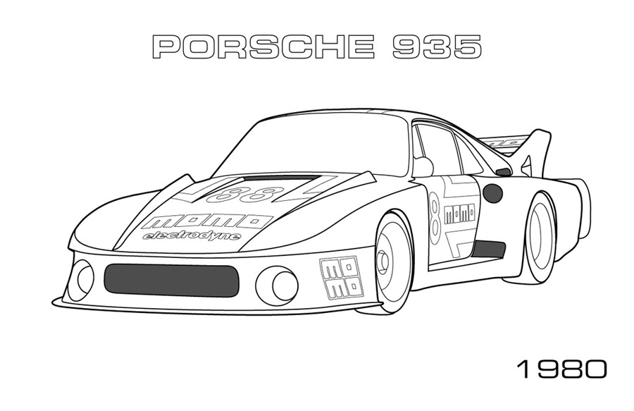 Gt Cars Car Coloring Pages Printable Coloring Pages Gt Number