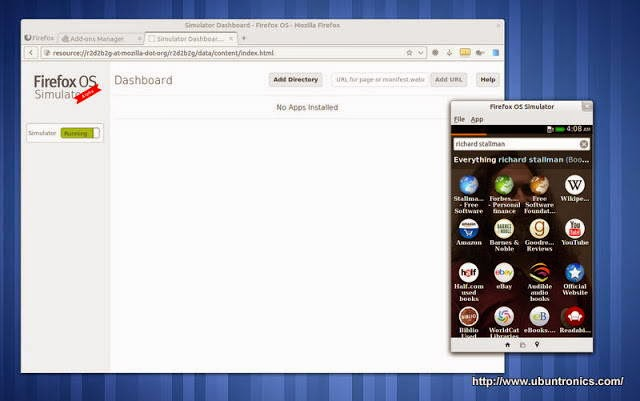 Firefox OS Simulator. Ahora disponible también para Linux