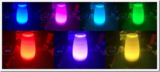 1490401121 thumb - 【パリピ向け?】AUKEY LT-ST14 LEDルームライト届いたー!デスクライトって書いてあるけどこれ完全にレッツパーリィィィィィな代物!色の選択肢はeGoAIO並の楽しめる一品だ!【LED】