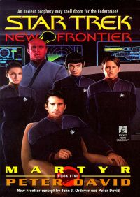 St New Frontier #5 Martyr By Peter David