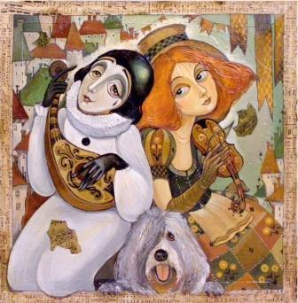 виставка живопису від Ольги Володарської-Іщук