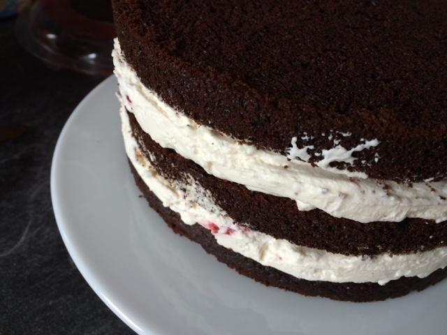 Astrids Ruhrschussel Kitkat Torte Mit Effekt