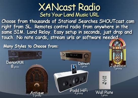 XANcast Radio 6 AboutLand Classified