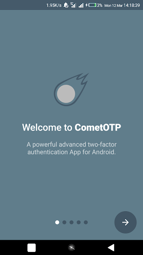 CometOTP - OTP Authenticator for Android by Gigabyte