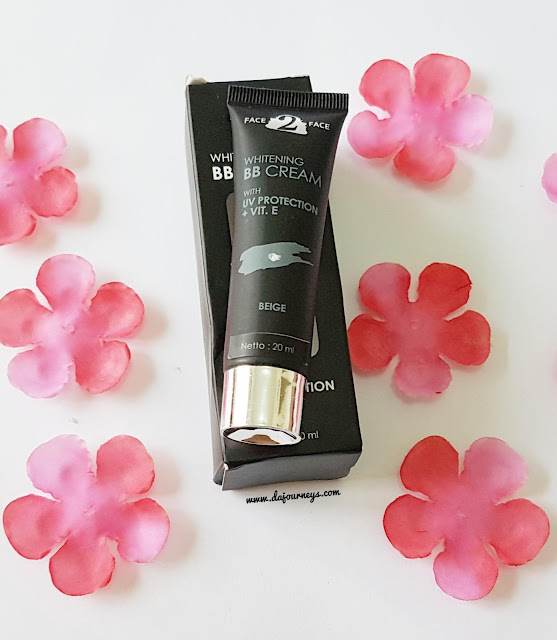 Whitening BB Cream Face2Face Cosmetics