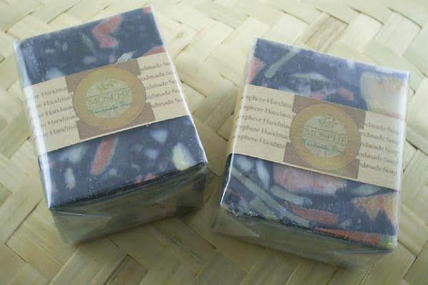 葡柚備長炭皂