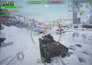 لعبة حرب دبابات اون لاين